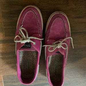Glitter Sperry shoes